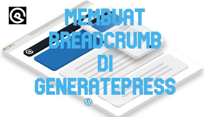 Membuat Breadcrumb di GeneratePress
